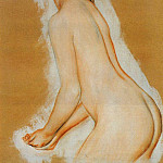 Pierre-Auguste Renoir - Nude (also known as Study for The Large Bathers)