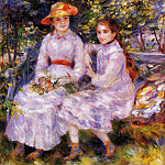 The Daughters of Paul Durand-Ruel - 1882, Pierre-Auguste Renoir