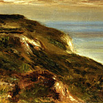The Church at Varengeville and the Cliffs - 1880, Pierre-Auguste Renoir
