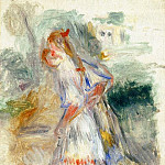 Little Girls - 1905 -1907, Pierre-Auguste Renoir