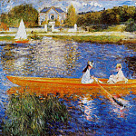 Pierre-Auguste Renoir - The Seine at Asnieres (also known as The Skiff) - 1879