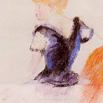 Young Blond Girl, Pierre-Auguste Renoir