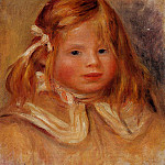 Coco in a Red Ribbon – 1905, Pierre-Auguste Renoir