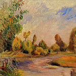 The Banks of the River - 1896, Pierre-Auguste Renoir