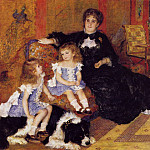 Pierre-Auguste Renoir - Madame Georges Charpentier and Her Children - 1878