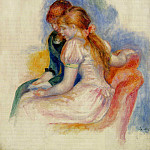 The Reading – 1890, Pierre-Auguste Renoir
