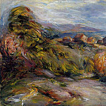 The Hills of Cagnes, Pierre-Auguste Renoir