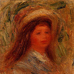 Pierre-Auguste Renoir - Womans Head