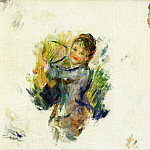 Pierre-Auguste Renoir - Study for - Girls playing with a Shuttlecock - 1887
