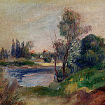 Banks of the River, Pierre-Auguste Renoir