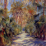 Algiers, the Garden of Essai – 1885, Pierre-Auguste Renoir