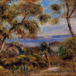 The Sea at Cagnes - 1910, Pierre-Auguste Renoir