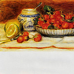 Strawberries - 1905, Pierre-Auguste Renoir