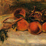 Still Life with Peaches and Chestnuts, Pierre-Auguste Renoir