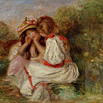 Пьер Огюст Ренуар - Two Little Girls - 1890