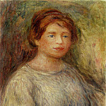 Portrait of a Woman - 1911, Pierre-Auguste Renoir