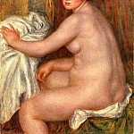 Seated Bather – 1913, Pierre-Auguste Renoir