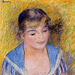 Pierre-Auguste Renoir - Bust of a Woman