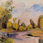 Pierre-Auguste Renoir - Banks of a River
