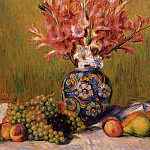 Still Life - Flowers and Fruit - 1889, Pierre-Auguste Renoir