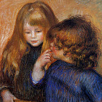 young gypsy girls - 1902, Pierre-Auguste Renoir