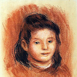 Girls Head, Pierre-Auguste Renoir