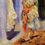 Girl with Falcon - 1880, Pierre-Auguste Renoir