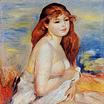 Pierre-Auguste Renoir - Bather - 1887