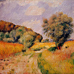 Fields of Wheat - 1885, Pierre-Auguste Renoir