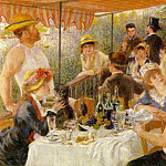 Pierre-Auguste Renoir - Luncheon of the Boating Party - 1881