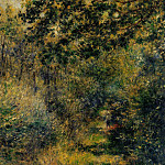 Path through the Woods – 1874, Pierre-Auguste Renoir