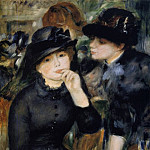 Girls in Black - 1880 -1882, Pierre-Auguste Renoir