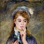 The Ingenue - 1877, Pierre-Auguste Renoir