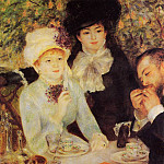 The End of Lunch - 1879, Pierre-Auguste Renoir