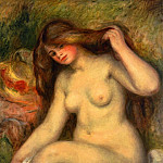 Large Bather with Crossed Legs - 1904, Pierre-Auguste Renoir