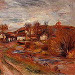 Landscape in Normandy - 1895, Pierre-Auguste Renoir