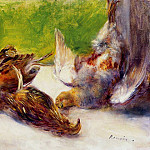 Three Partridges - 1880, Pierre-Auguste Renoir