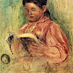 Pierre-Auguste Renoir - Woman Reading - 1906 - 1909