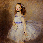 Dancer - 1874, Pierre-Auguste Renoir