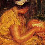 Young Woman Reading, Pierre-Auguste Renoir