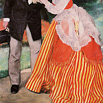 Alfred Sisley with His Wife - 1881, Pierre-Auguste Renoir
