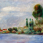 Pierre-Auguste Renoir - House on the River
