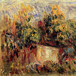 Cottage near Collettes - 1916, Pierre-Auguste Renoir
