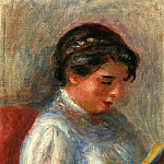 Pierre-Auguste Renoir - The Reader - 1906