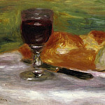 Glass of Wine - 1908, Pierre-Auguste Renoir