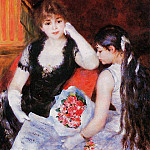 At the Concert - 1880, Pierre-Auguste Renoir