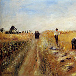The Harvesters - 1873, Pierre-Auguste Renoir