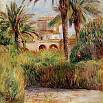 The Test Garden in Algiers - 1882, Pierre-Auguste Renoir