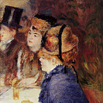 At the Cafe - 1877, Pierre-Auguste Renoir