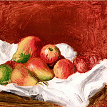 Pears and Apples - 1890, Pierre-Auguste Renoir